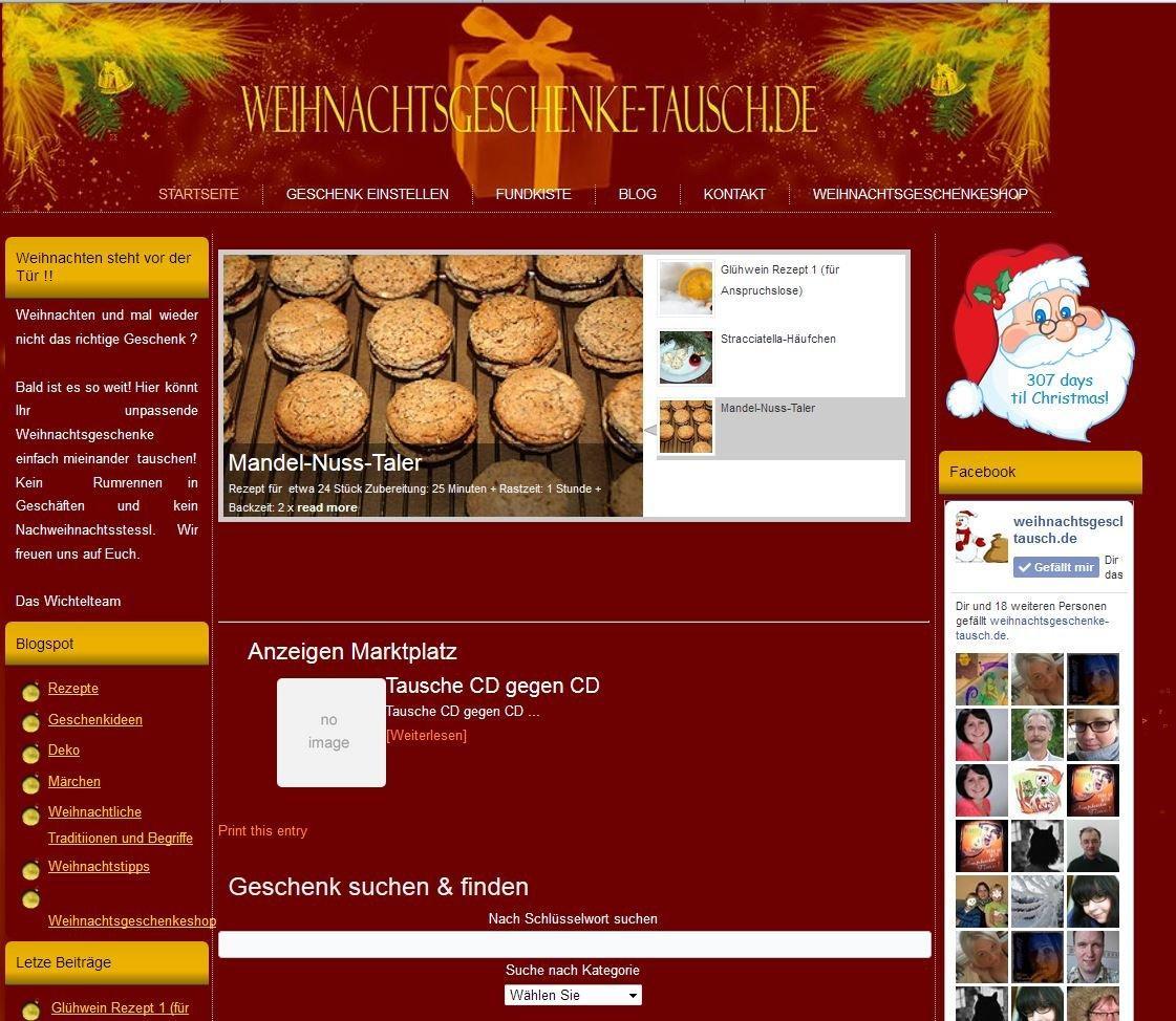 Weihnachtsgeschenke-tausch.de