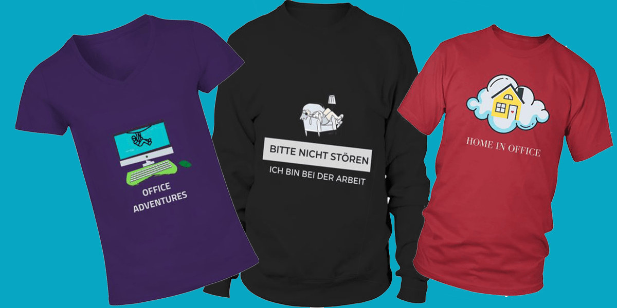 Shirt Shop auf Teezilly    Cool in the Office